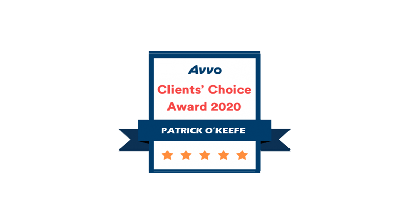 Avvo Clients Choice Award 2020