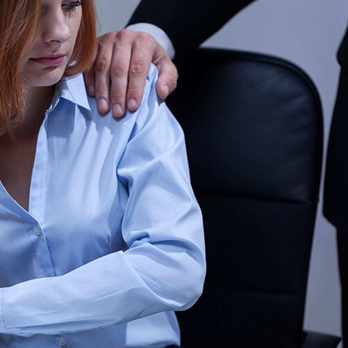 boss harassing employee at work sex crimes practice area support image