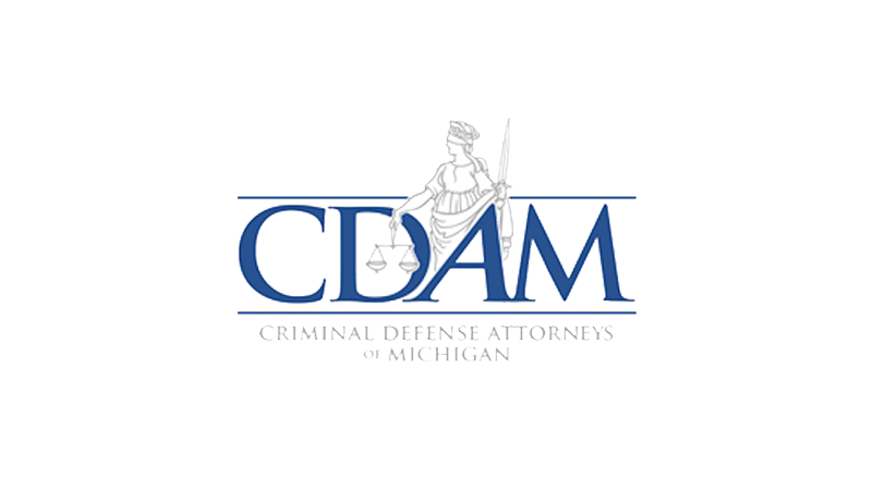 criminal defense attorneys of michigan logo