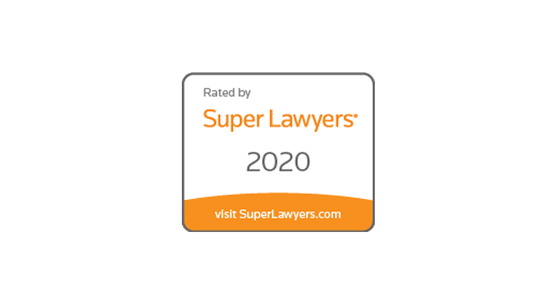 2020 Super Lawyers Logo